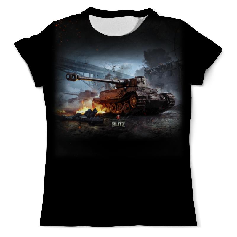 Фото - Футболка с полной запечаткой (мужская) Printio World of tanks футболка с полной запечаткой мужская printio field of screams