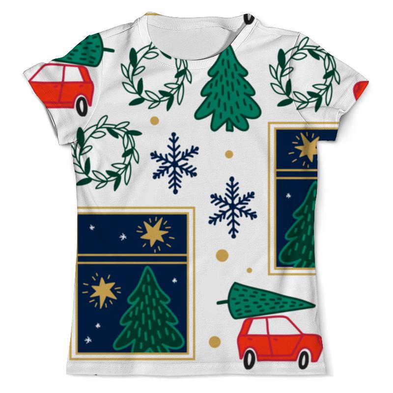 Printio Новогодняя футболка с полной запечаткой мужская printio денис 01