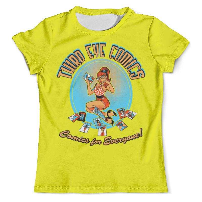 Футболка с полной запечаткой (мужская) Printio Девушка футболка с полной запечаткой мужская printio девушка киборг