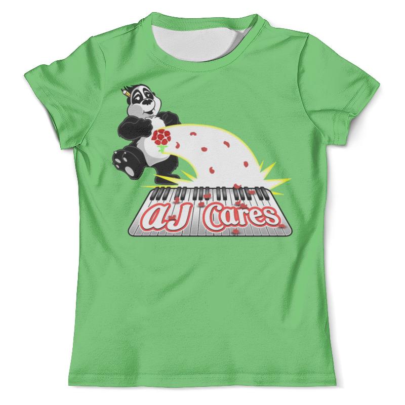 Футболка с полной запечаткой (мужская) Printio Панда диджей футболка с полной запечаткой мужская printio панда