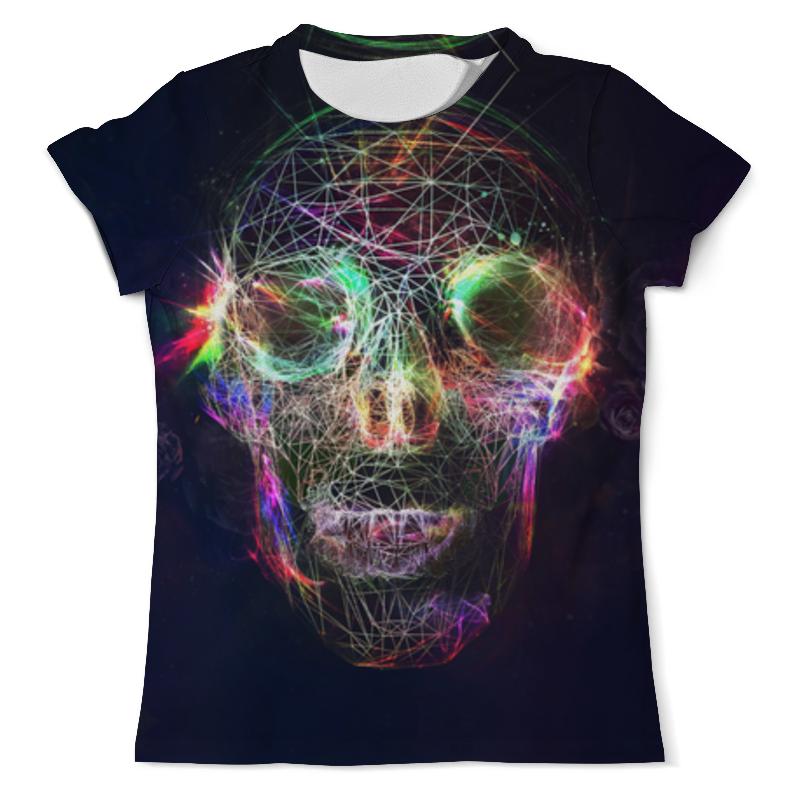 Футболка с полной запечаткой (мужская) Printio Skull - 17 футболка с полной запечаткой мужская printio skull triangle