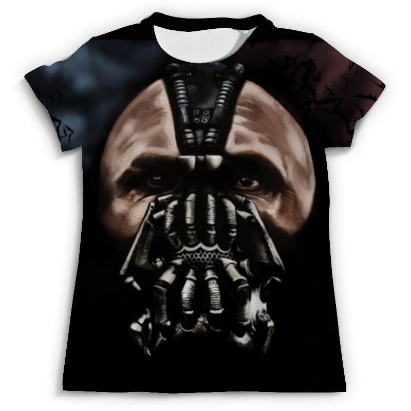 Футболка с полной запечаткой (мужская) Printio Бэтмен(бэйн) футболка с полной запечаткой мужская printio набережная в крыму константин коровин