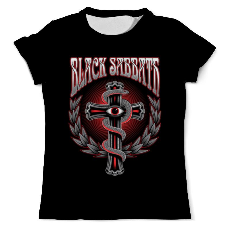 Футболка с полной запечаткой (мужская) Printio Black sabbath футболка с полной запечаткой для девочек printio mac sabbath black sabbath