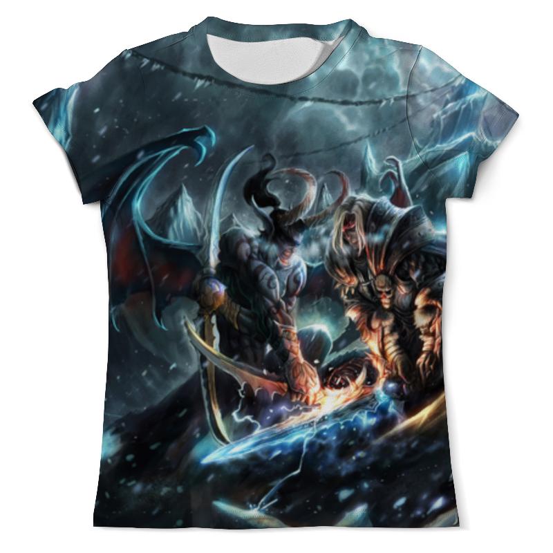 Фото - Футболка с полной запечаткой (мужская) Printio World-of-warcraft футболка с полной запечаткой мужская printio field of screams