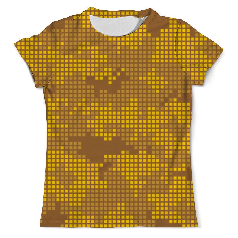 Футболка с полной запечаткой (мужская) Printio Пустынный камуфляж футболка с полной запечаткой мужская printio яркий камуфляж