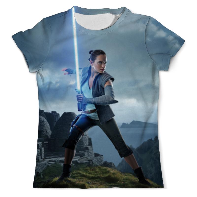 Футболка с полной запечаткой (мужская) Printio Звездные войны - рей футболка с полной запечаткой мужская printio звездные войны рей