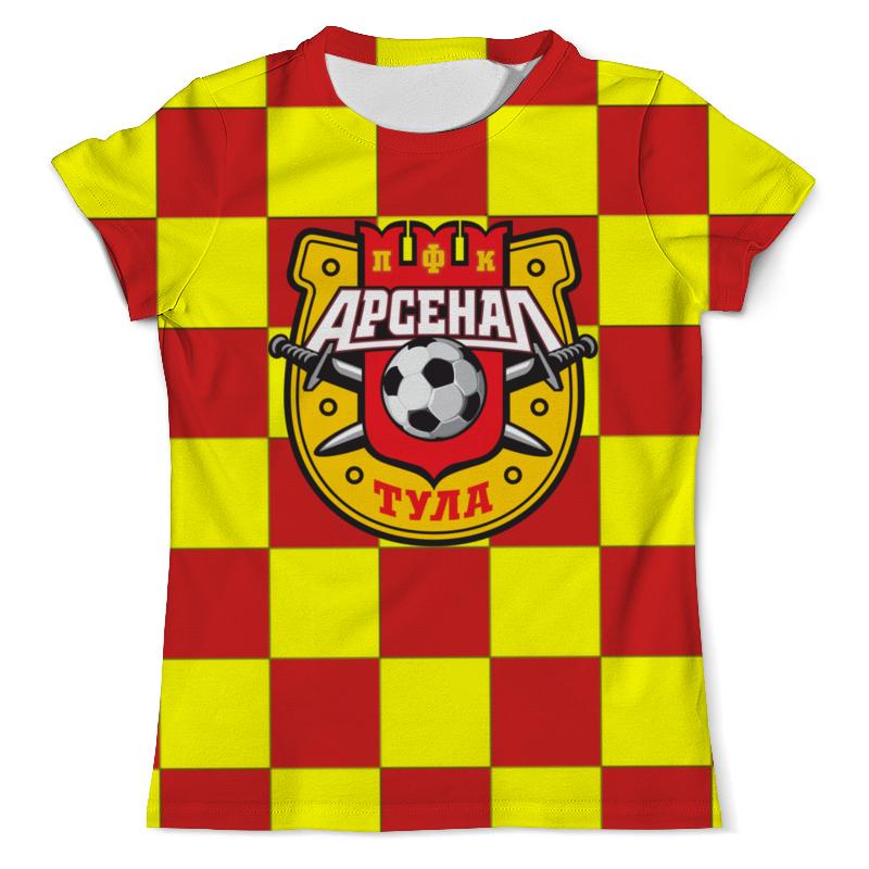 Футболка с полной запечаткой (мужская) Printio Арсенал пфк футболка с полной запечаткой мужская printio терек пфк