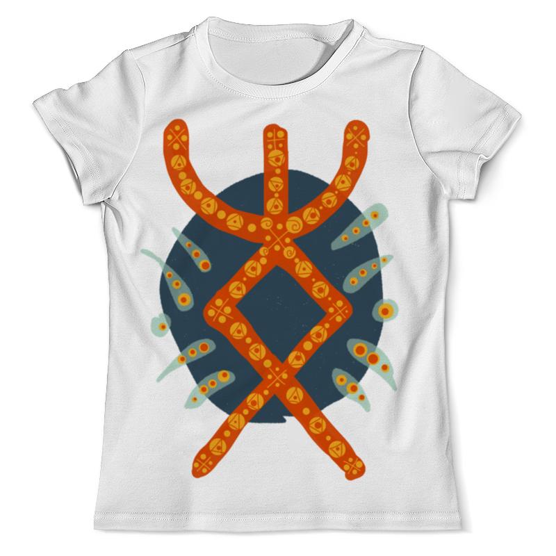 Футболка с полной запечаткой (мужская) Printio Руна радость футболка с полной запечаткой мужская printio руна викингов