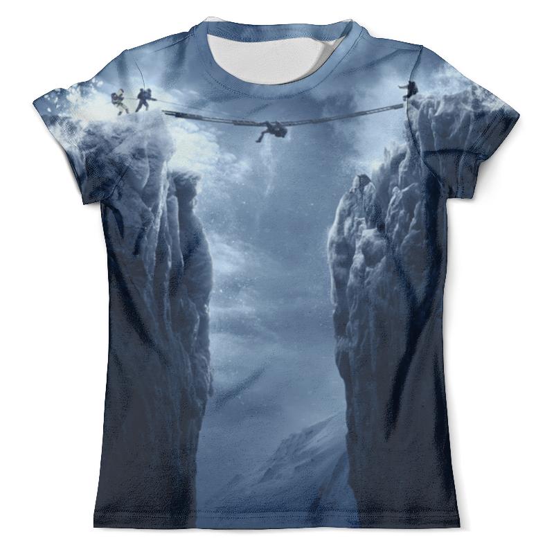 Футболка с полной запечаткой (мужская) Printio Эверест костюм зимний эверест эверест синий 44 46