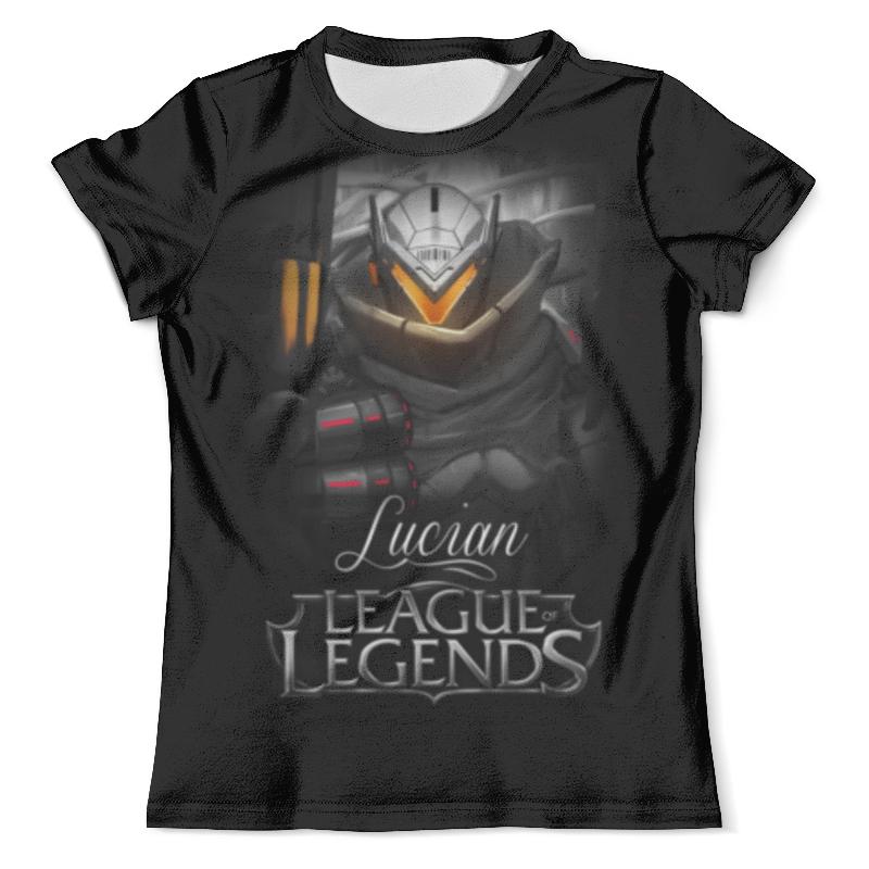 Футболка с полной запечаткой (мужская) Printio League of legends. люциан свитшот мужской с полной запечаткой printio league of legends