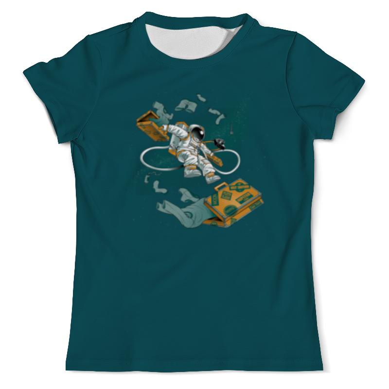 Printio Космический турист футболка с полной запечаткой мужская printio космический экстрим
