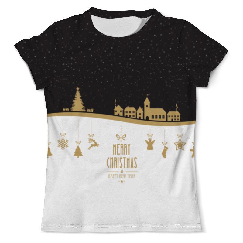 Printio Merry christmas and happy ny футболка мужская new york ny logo