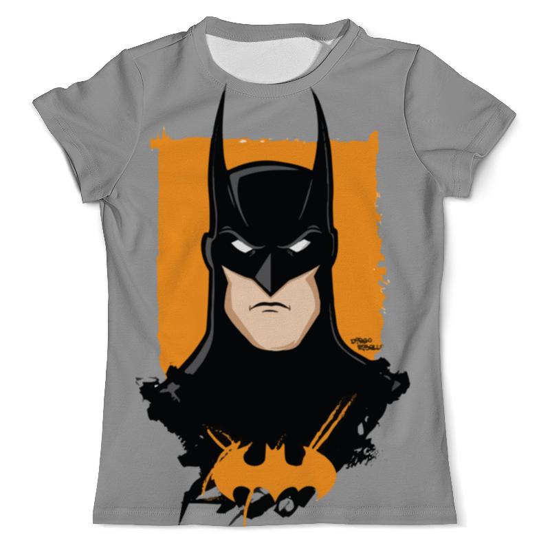 Футболка с полной запечаткой (мужская) Printio Batman/бэтмен чехол для iphone 5 глянцевый с полной запечаткой printio бэтмен batman