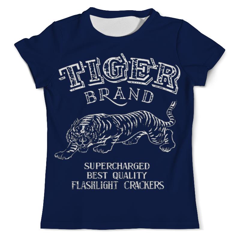 Printio Tiger brand футболка мужская its own brand christian audigier edhardy