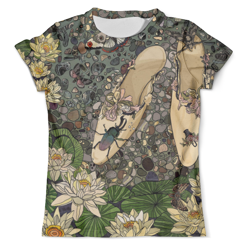 Футболка с полной запечаткой (мужская) Printio Лилии и туфельки футболка с полной запечаткой мужская printio и по