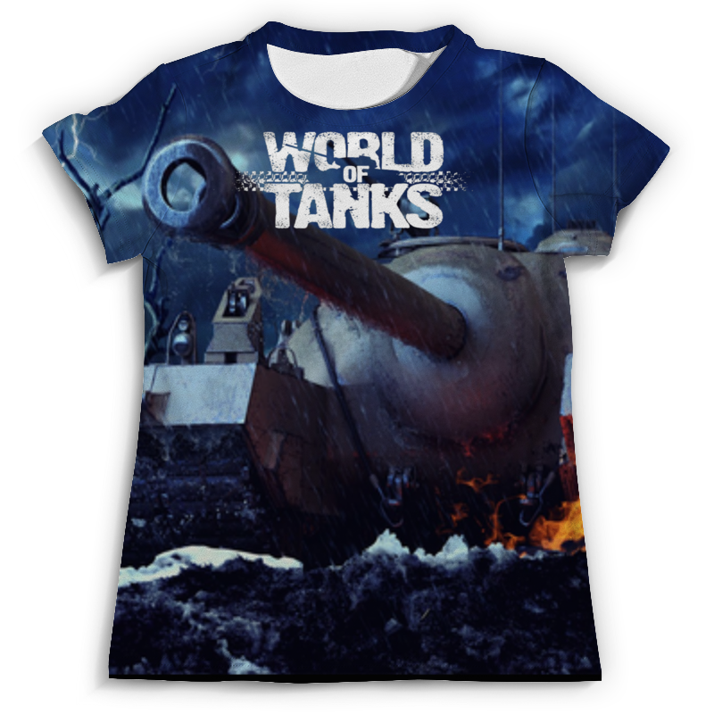 Футболка с полной запечаткой (мужская) Printio World of tanks футболка с полной запечаткой мужская printio набережная в крыму константин коровин