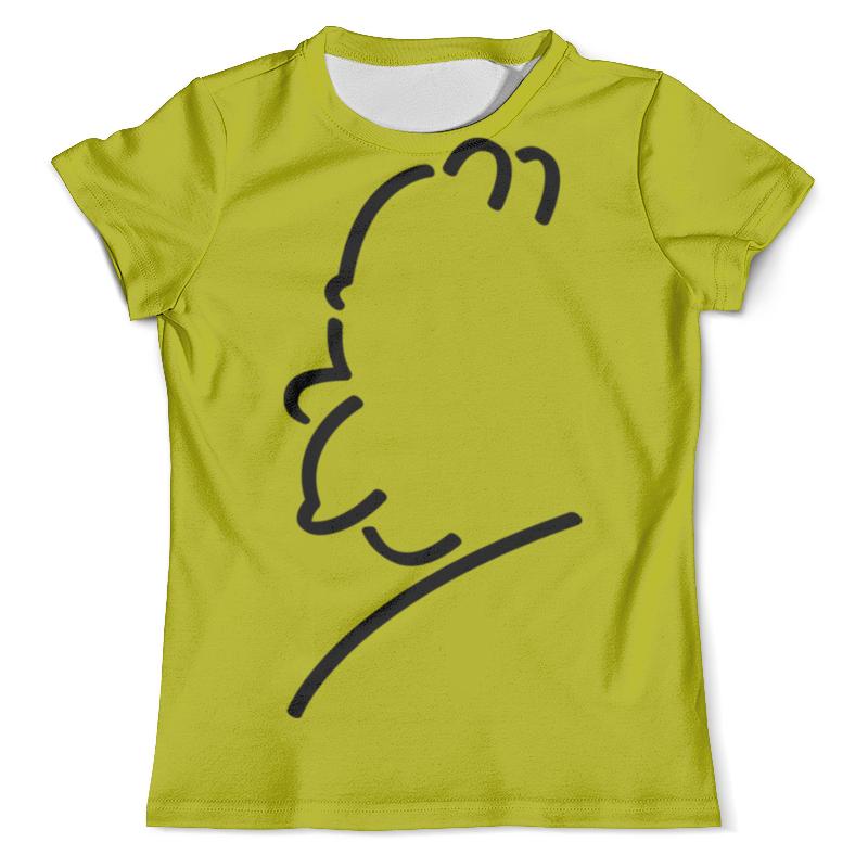 Футболка с полной запечаткой (мужская) Printio Гомер симпсон футболка с полной запечаткой мужская printio гомер симпсон i am so smrt