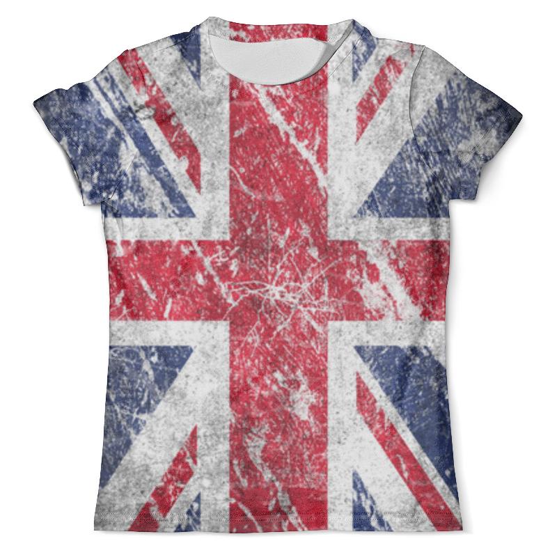 Футболка с полной запечаткой (мужская) Printio Флаг великобритании