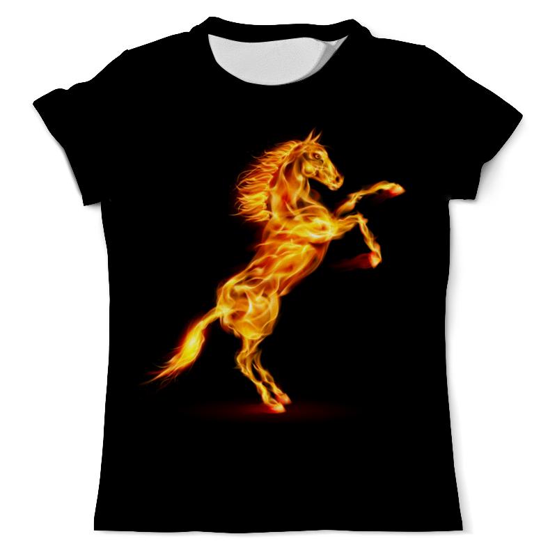 Футболка с полной запечаткой (мужская) Printio Огненная лошадь футболка с полной запечаткой мужская printio огненная лошадь