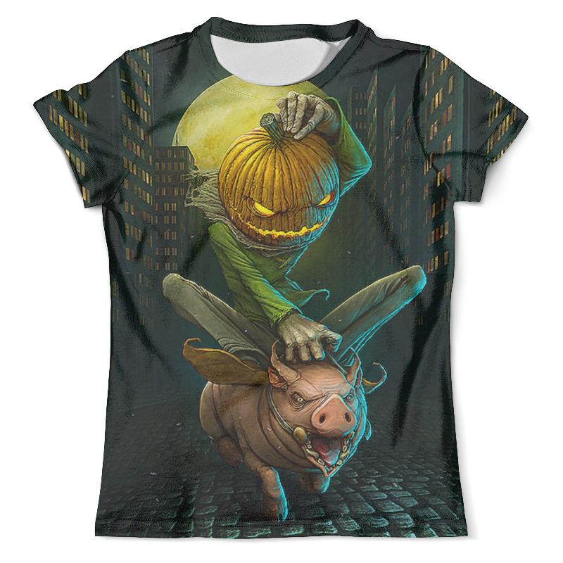 Printio Halloween&pig цена