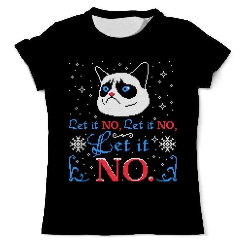 Футболка с полной запечаткой (мужская) Printio Кот ( cat ) футболка с полной запечаткой мужская printio grumpy cat