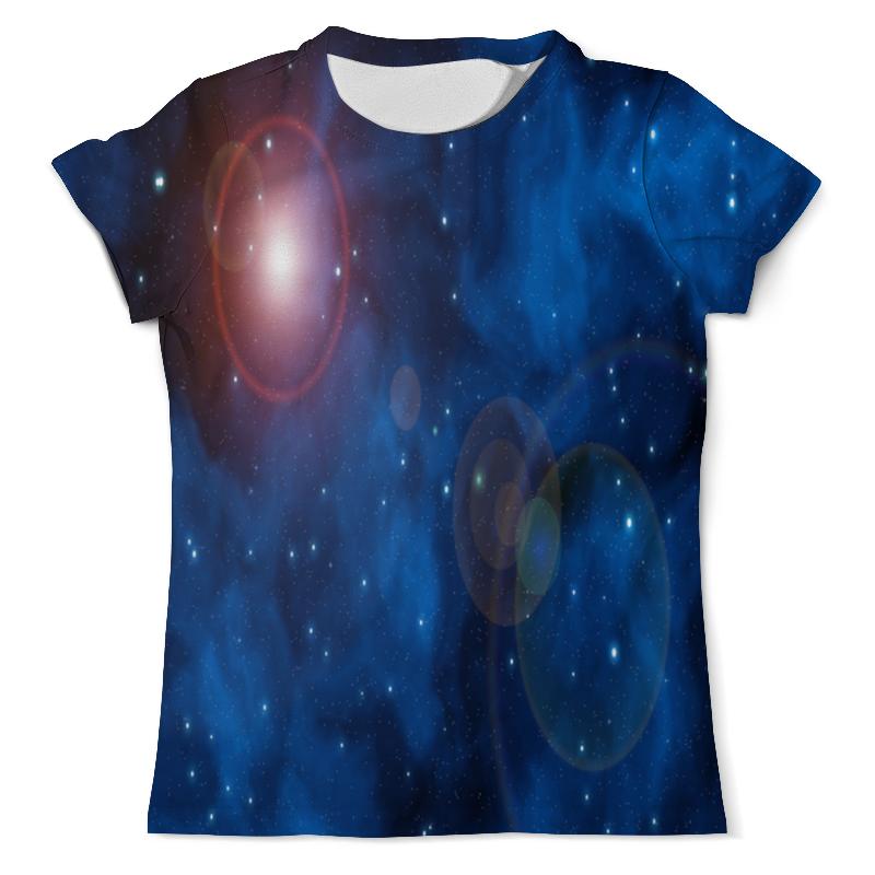 Футболка с полной запечаткой (мужская) Printio Вспышки в космосе футболка с полной запечаткой мужская printio в клетку