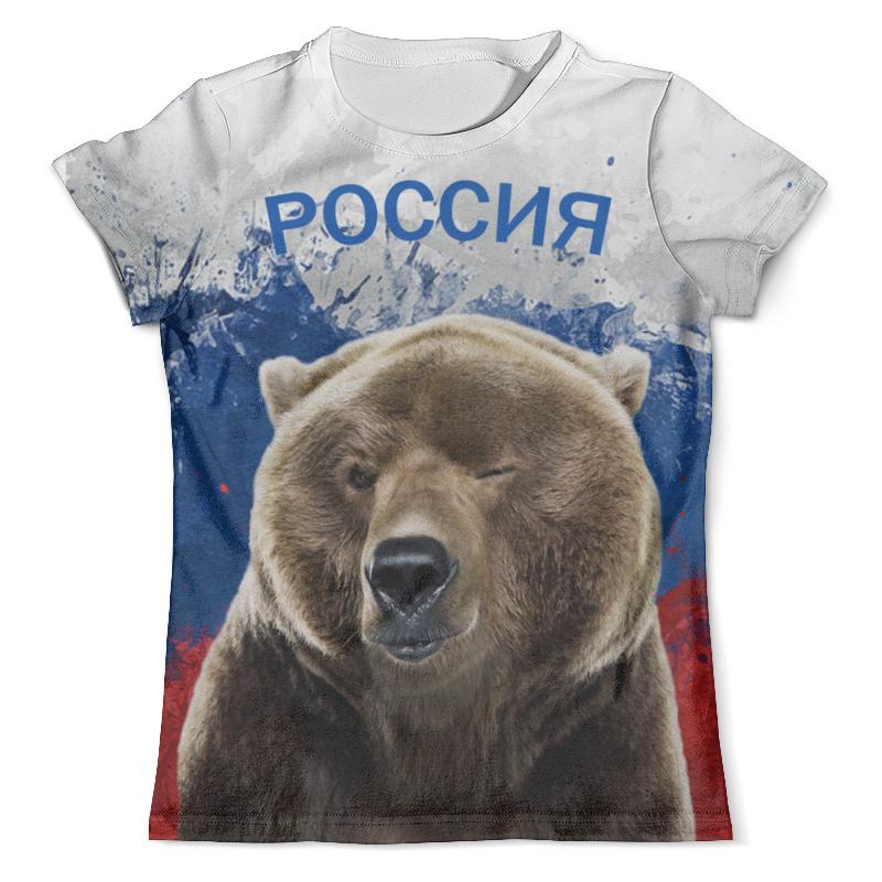 Футболка с полной запечаткой (мужская) Printio Россия футболка с полной запечаткой мужская printio телохранитель