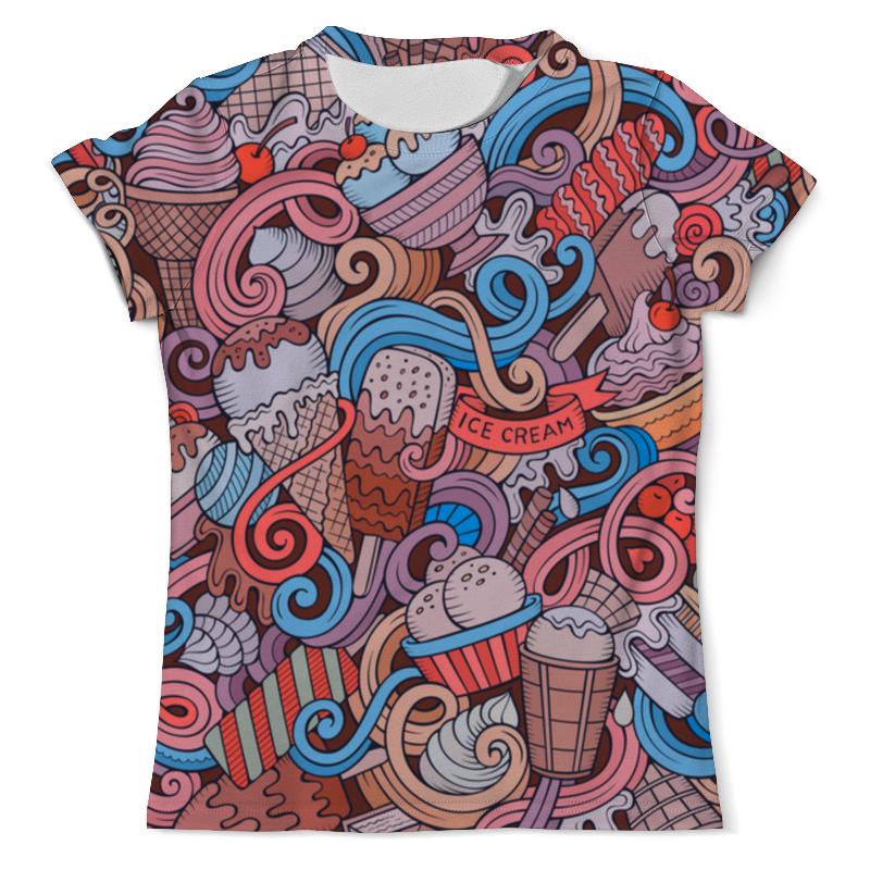 Printio Ice cream футболка с полной запечаткой женская printio ice cream queen