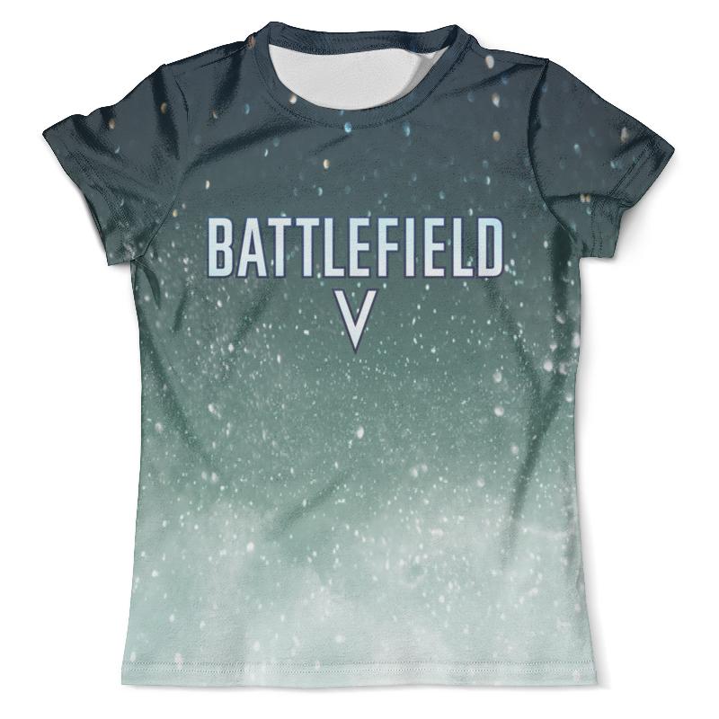 Футболка с полной запечаткой (мужская) Printio Battlefield 5 футболка с полной запечаткой для мальчиков printio battlefield 1
