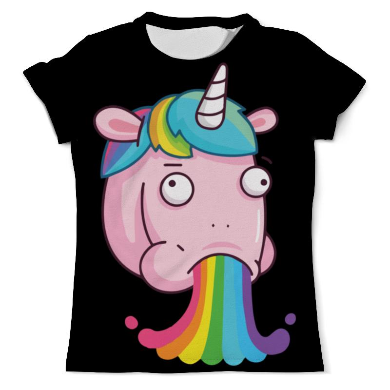 Футболка с полной запечаткой (мужская) Printio Unicorn's rainbow / радуга единорога футболка с полной запечаткой мужская printio радуга цвета жизни