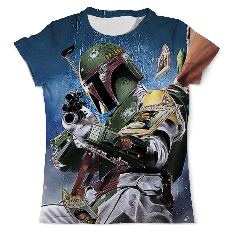 Футболка с полной запечаткой (мужская) Printio Boba fett (star wars) футболка с полной запечаткой мужская printio boba fett star wars