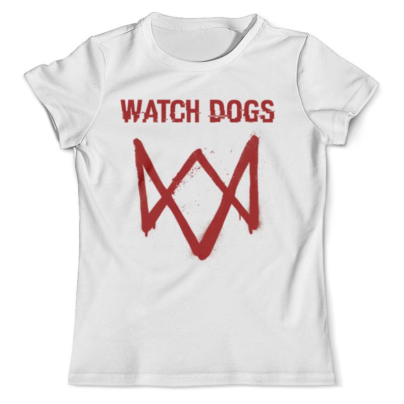 Футболка с полной запечаткой (мужская) Printio Watch dogs футболка с полной запечаткой для мальчиков printio watch dogs