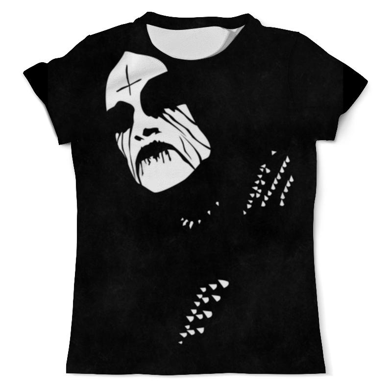 Футболка с полной запечаткой (мужская) Printio Black metal metal mulisha футболка metal mulisha quartered black