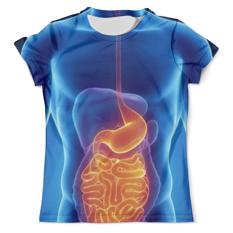 Футболка с полной запечаткой (мужская) Printio X-ray man футболка с полной запечаткой мужская printio x ray of bones