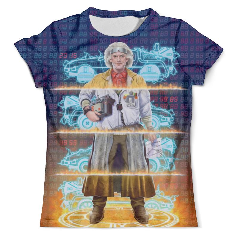 Футболка с полной запечаткой (мужская) Printio Back to the future футболка с полной запечаткой мужская printio to the rats and wolves