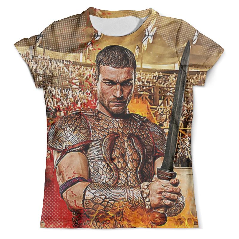 Футболка с полной запечаткой (мужская) Printio Spartacus design футболка с полной запечаткой мужская printio spartacus blood and sand