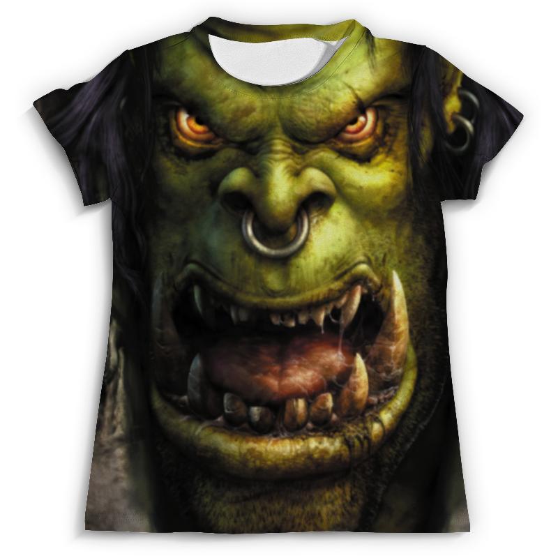 Футболка с полной запечаткой (мужская) Printio Warcraft футболка с полной запечаткой мужская printio карта мира вселенная