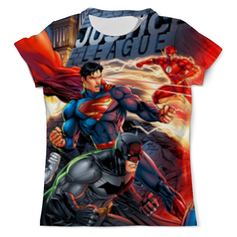 Printio Лига правосудия (justice league) футболка с полной запечаткой мужская printio лига справедливости justice league dark side