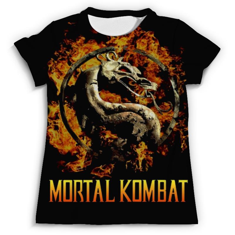 Футболка с полной запечаткой (мужская) Printio Mortal kombat