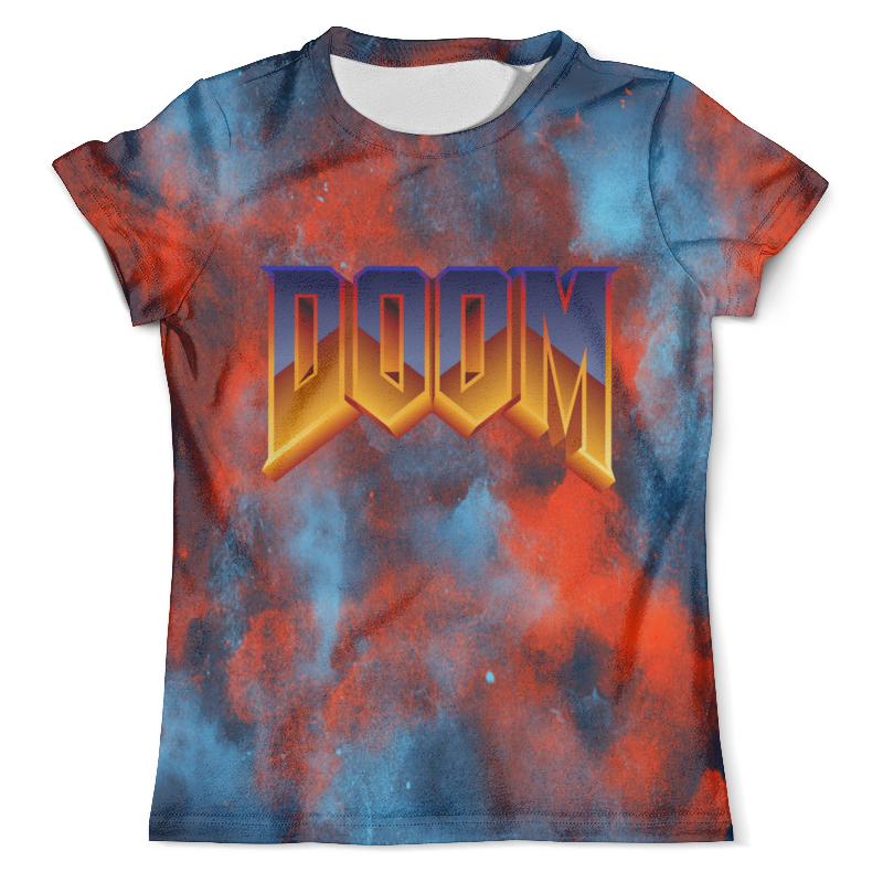 Футболка с полной запечаткой (мужская) Printio Doom игра футболка doom