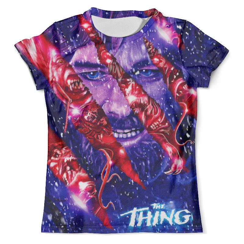 Футболка с полной запечаткой (мужская) Printio The thing design the almost impossible thing