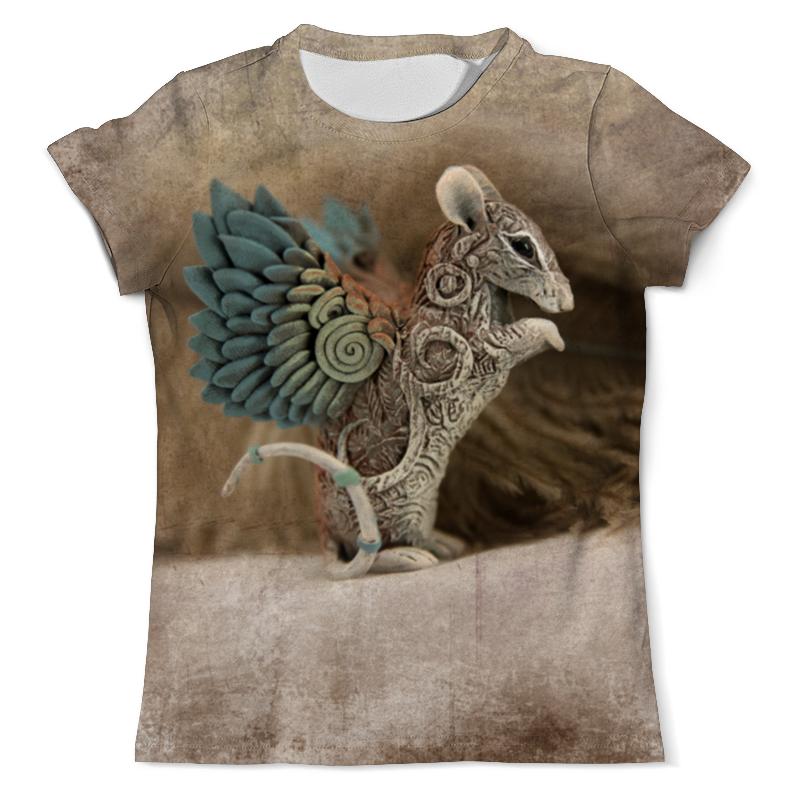 Printio Крыса-птичка футболка с полной запечаткой мужская printio ночная птичка
