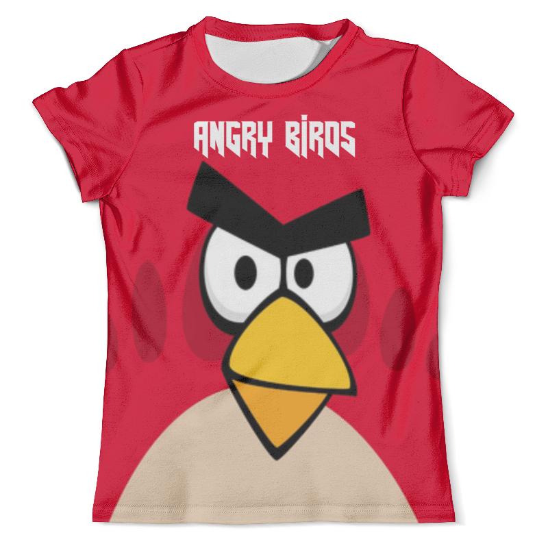 Футболка с полной запечаткой (мужская) Printio Angry birds (terence) фартук с полной запечаткой printio angry birds terence