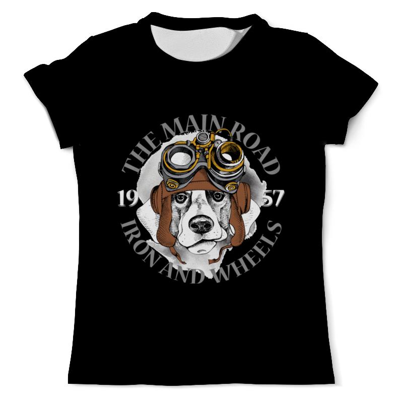 Футболка с полной запечаткой (мужская) Printio Собака футболка с полной запечаткой мужская printio главное ррр ррр