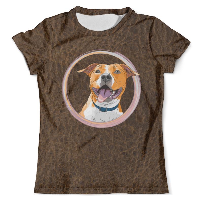 Футболка с полной запечаткой (мужская) Printio Собака футболка с полной запечаткой мужская printio фрактальная эзотерика мандалы