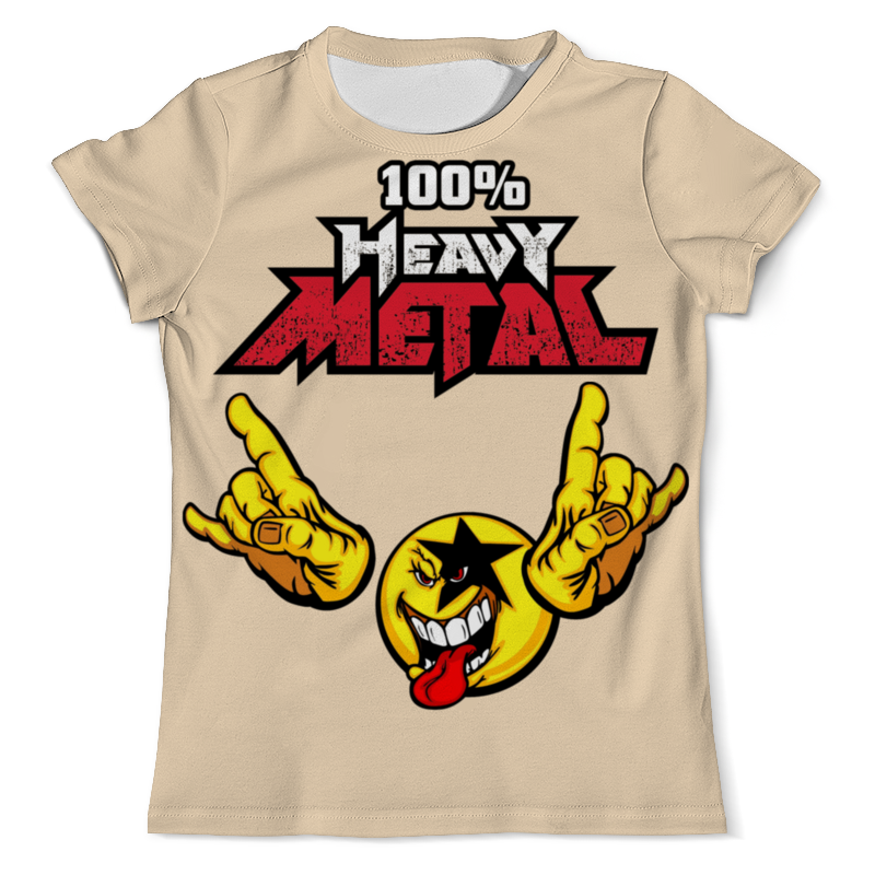 Футболка с полной запечаткой (мужская) Printio Heavy metal art футболка с полной запечаткой мужская printio heavy metal art