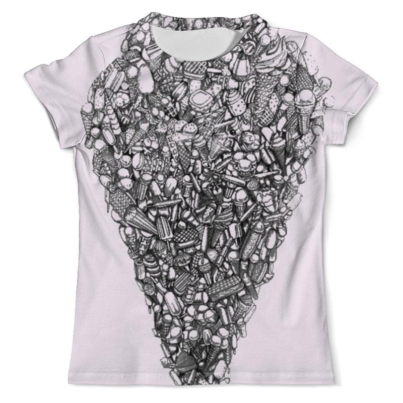 Футболка с полной запечаткой (мужская) Printio Ice-cream футболка с полной запечаткой женская printio ice cream queen