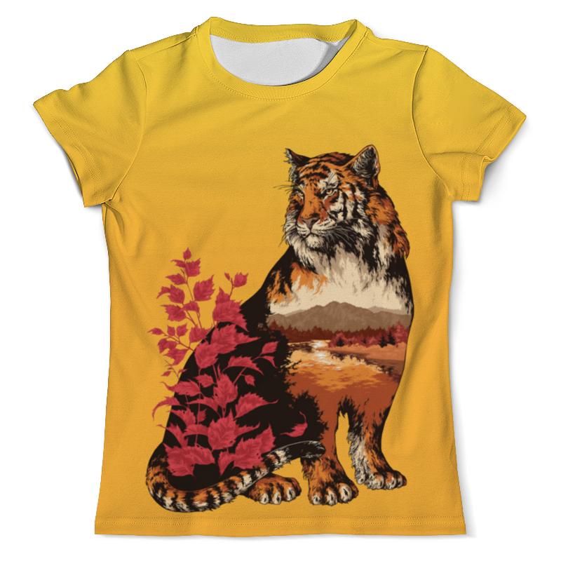 Футболка с полной запечаткой (мужская) Printio Тигр арт (1) футболка с полной запечаткой мужская printio одноглазый тигр