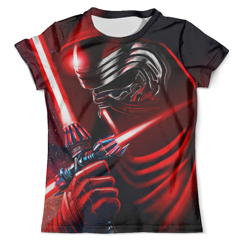 Футболка с полной запечаткой (мужская) Printio Kylo ren (star wars) футболка wearcraft premium printio рыжий котик don t panic be cool it s idea shop