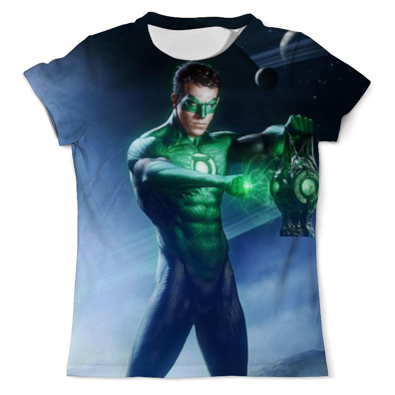 Футболка с полной запечаткой (мужская) Printio Веном / venom / зеленый фанарь футболка с полной запечаткой мужская printio веном venom зеленый фанарь